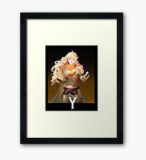 Yang Framed Print