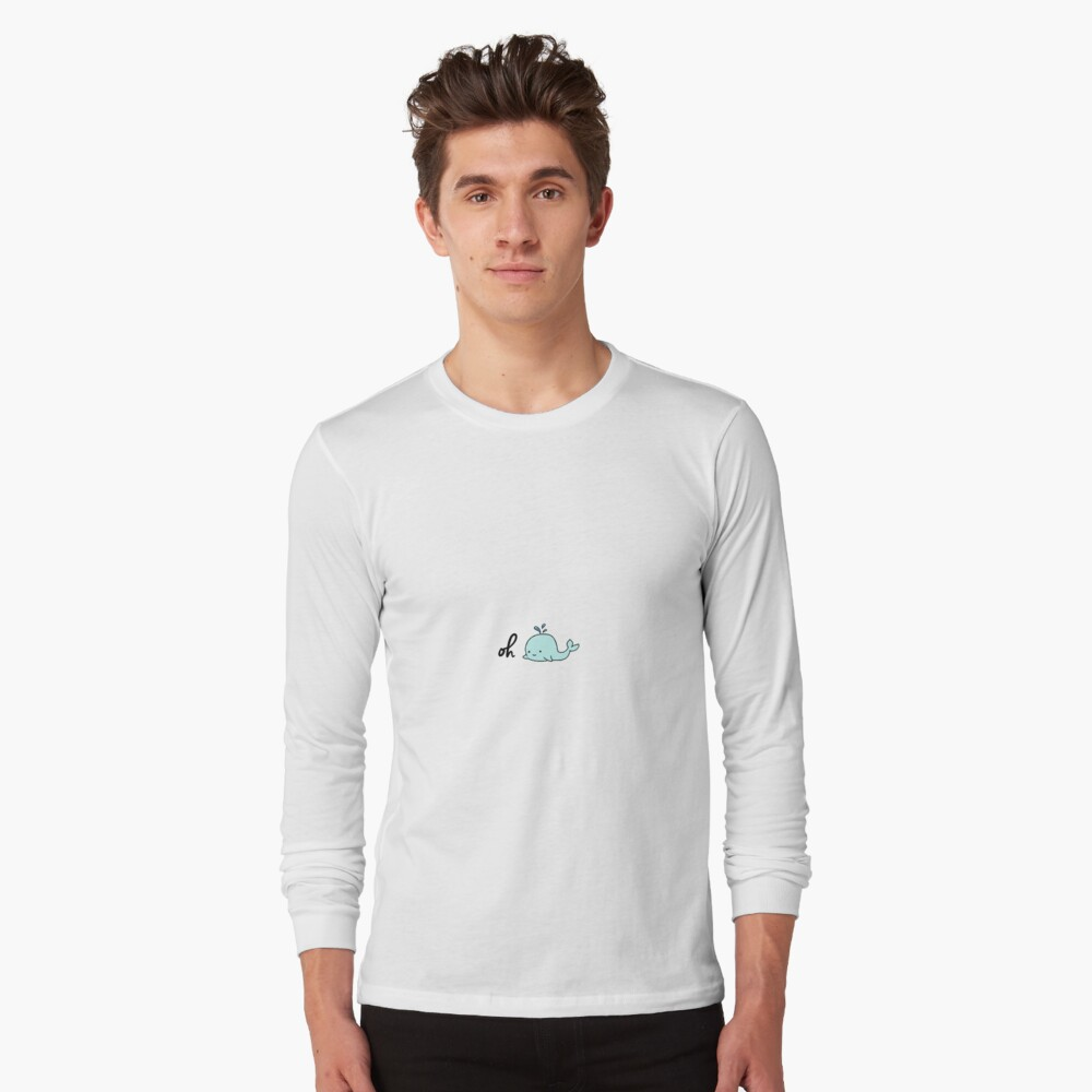 Oh Whale Long Sleeve T-Shirt
