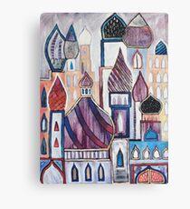 Eastern City Landscape Canvas Print