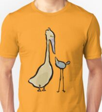 two different birds Unisex T-Shirt