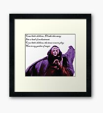 Sanderson Children Spell Framed Print