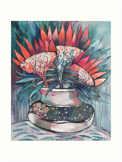 Futuristic Flowers by olgamilovich