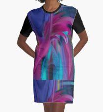 Wearable Art - Fireflight Graphic T-Shirt Dress