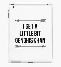Genghis Khan iPad Case/Skin