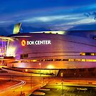 Neon Night - BOK Center by Gregory Ballos
