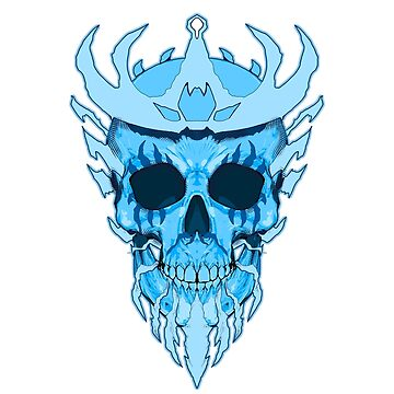 SKULL. ice king by markjhiblen