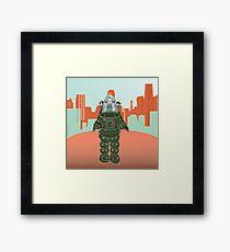 Sci Fi Robot Framed Print