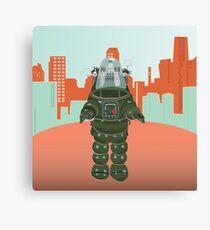 Sci Fi Robot Canvas Print
