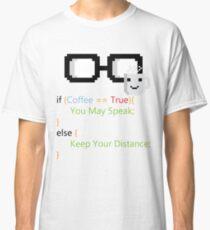 Coffee if loop Classic T-Shirt