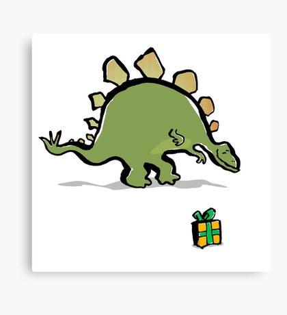 stegosaur Canvas Print