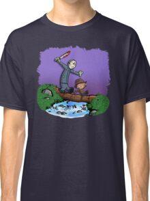 Freddy and Jason Parody mash up Classic T-Shirt