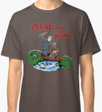 Freddy and Jason - C&H Mash Up Classic T-Shirt