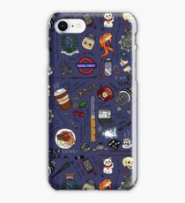 Sherlock Collage (color) iPhone Case/Skin