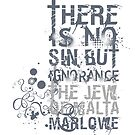 Marlowe Jew of Malta Quote by Incognita Enterprises