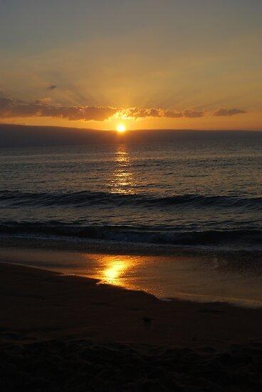 Maui sunset by Jennifer Chory