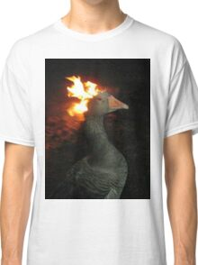 Fire Duck (goose on fire) Classic T-Shirt