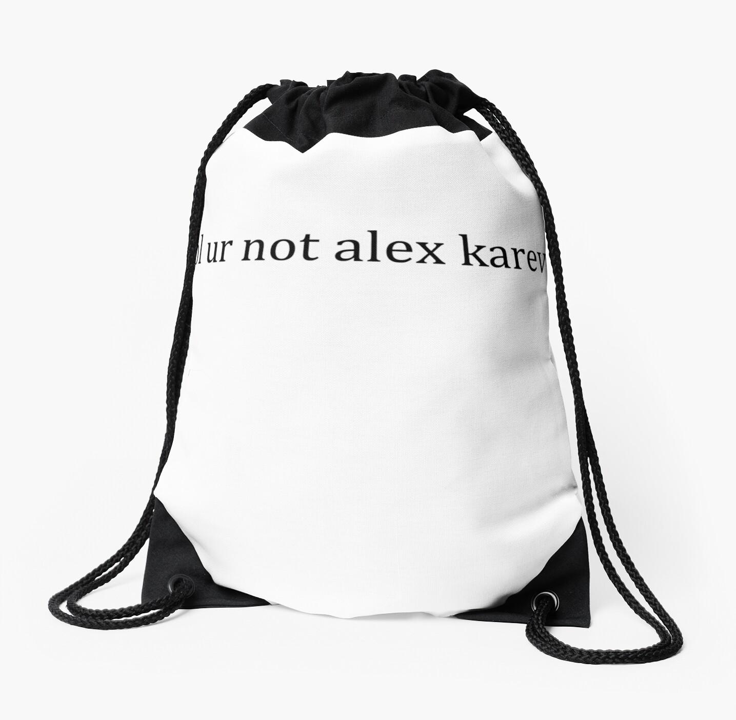 Mochilas de cuerdas «jajaja no alex karev» de Lyndsey Kleiman ...