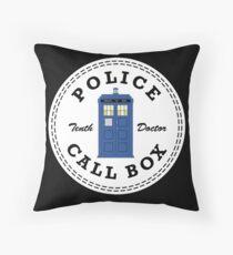 The Doctor's Converse Throw Pillow