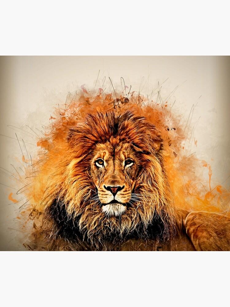 Flüssiger Löwe von rcurtiss000