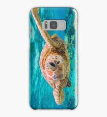 Green Turtle Wink Samsung Galaxy Case/Skin