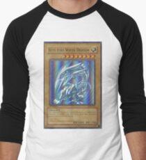 Blue-eyes white dragon Men's Baseball ¾ T-Shirt