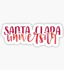 Santa Clara University - Style 1 Sticker