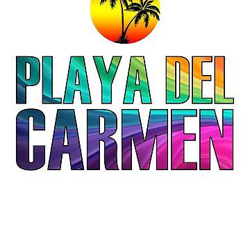 The Beach, Playa del Carmen by 3vanjava