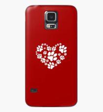 Love Paws Hülle & Klebefolie für Samsung Galaxy