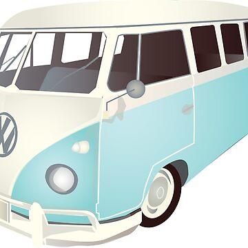 VW van by Carolynne
