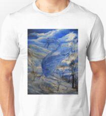 Camiseta ajustada El dragón de invierno