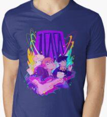 100% Friendship Men's V-Neck T-Shirt