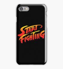 Start Fighting iPhone Case/Skin
