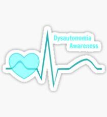 Dysautonomia Awareness Gear Sticker