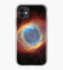Deep Dream Helix Nebula iPhone Case