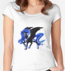 Nightmare Moon Women's Fitted Scoop T-Shirt