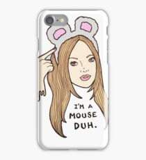 Mean Girls - Karen  iPhone Case/Skin
