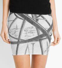 Clock Tower Mini Skirt