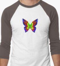 nick mason butterfly tee Men's Baseball ¾ T-Shirt