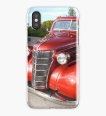 1938 Chevy Business Coupe in the Country iPhone Case/Skin