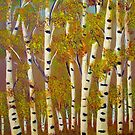 Birch trees-3 by maggie326