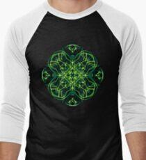 .Green Celtic Cross & Clover Sacred Geometry Energy Mandala T-Shirt