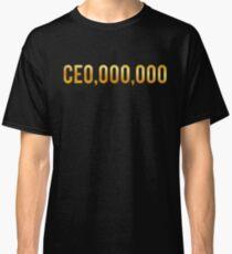 CEO Shirts Entrepreneur Business Classic T-Shirt