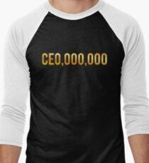 CEO Shirts Entrepreneur Business Men's Baseball ¾ T-Shirt