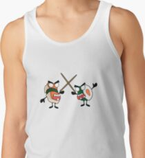 angry dueling zombie sushi Tank Top