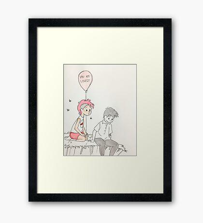 comic gerahmte wandbilder redbubble. Black Bedroom Furniture Sets. Home Design Ideas