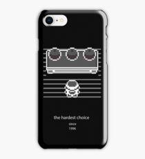 Choose one (black) iPhone Case/Skin