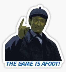 The Game is Afoot Sticker