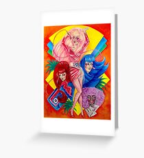 Jem and the Holograms Greeting Card