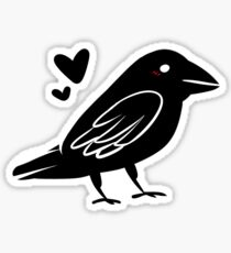 Crow Friend Sticker