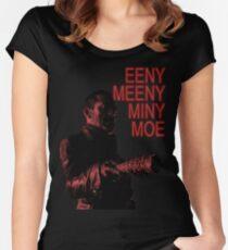 Eeny Meeny... Women's Fitted Scoop T-Shirt